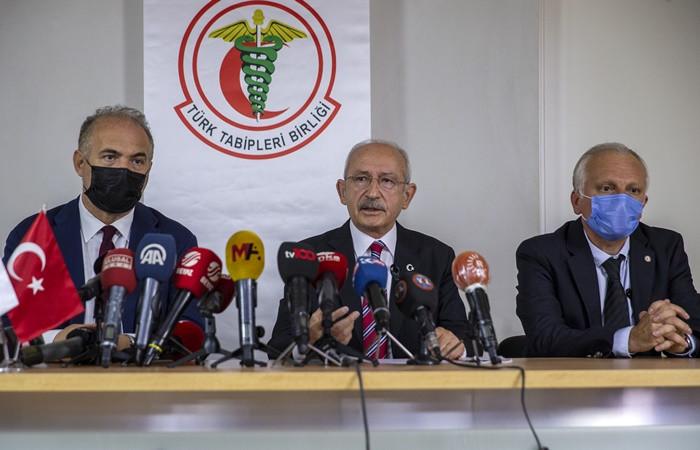 Kılıçdaroğlu TTB'yi ziyaret etti: Gereğini yapıyorlar