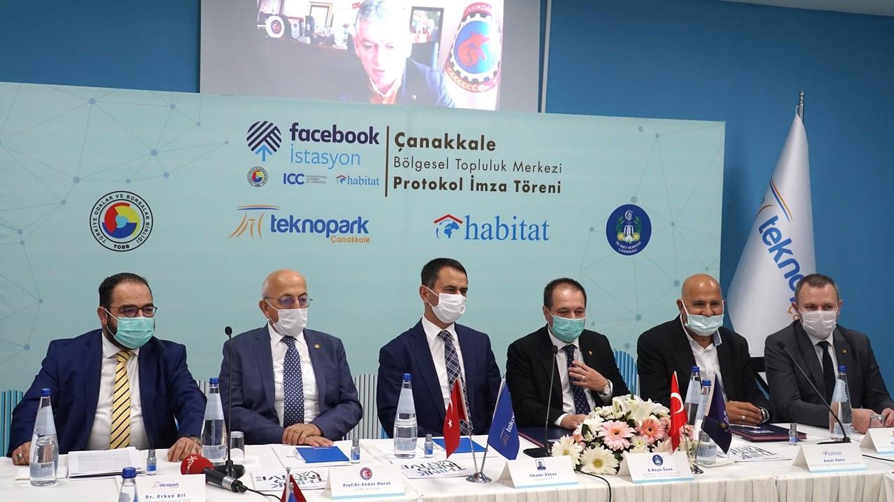 Facebook İstasyonu Çanakkale Teknopark'ta