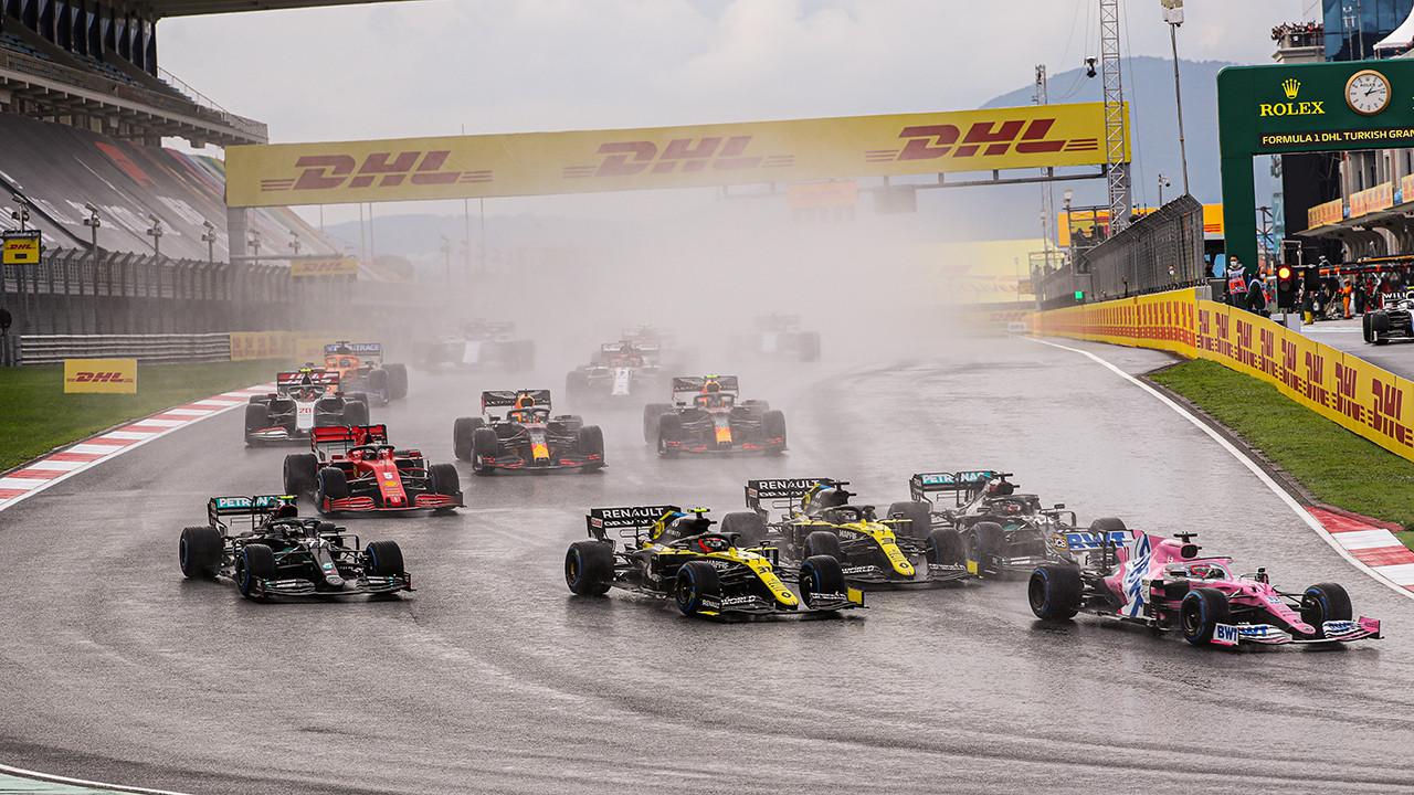 Formula 1 DHL Türkiye Grand Prix'inden kareler