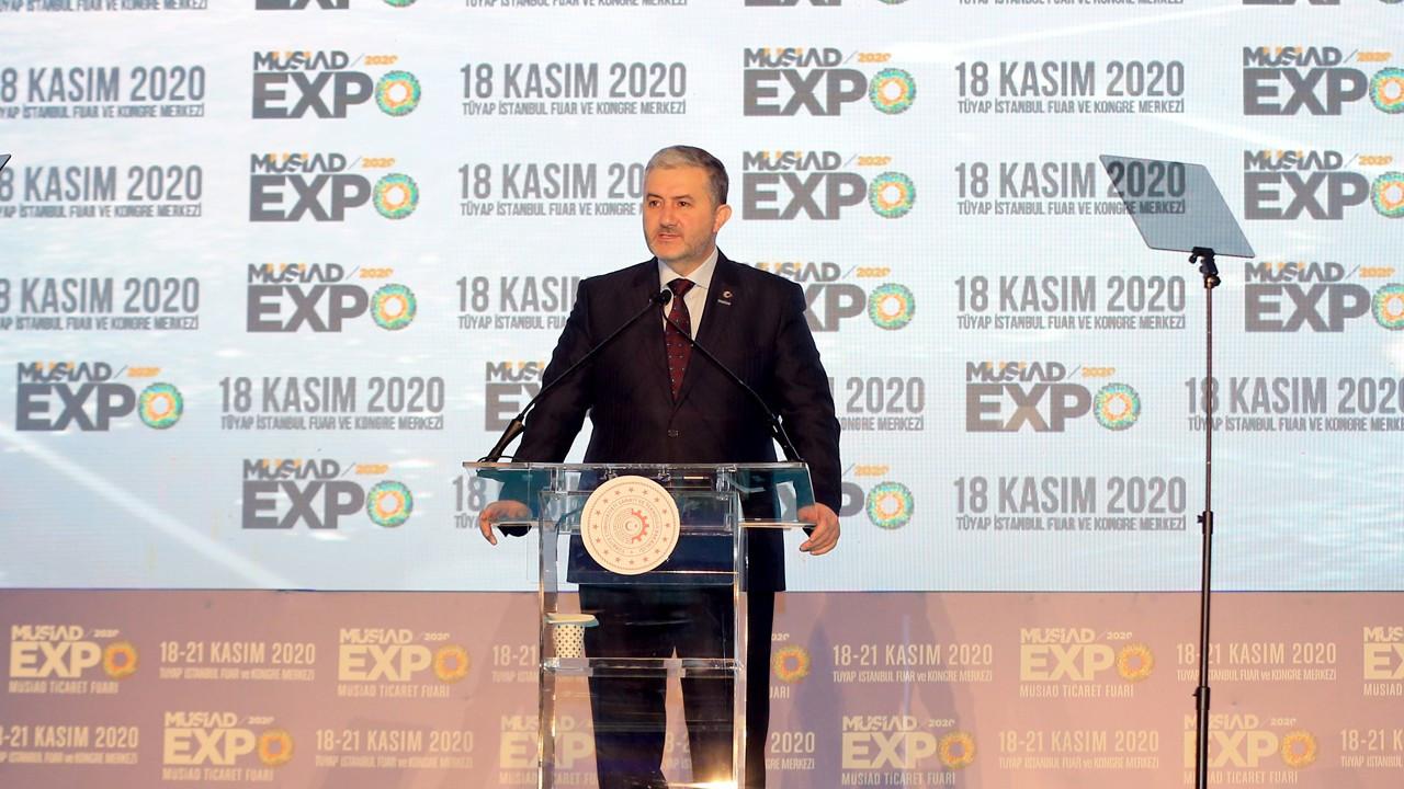 Türkiye'nin ilkhibritfuarı MÜSİAD EXPO 2020 kapılarını açtı