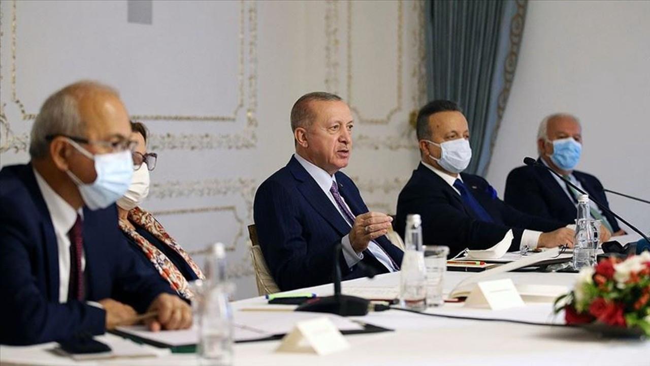 Cumhurbaşkanı Erdoğan, TİM heyeti ile buluştu