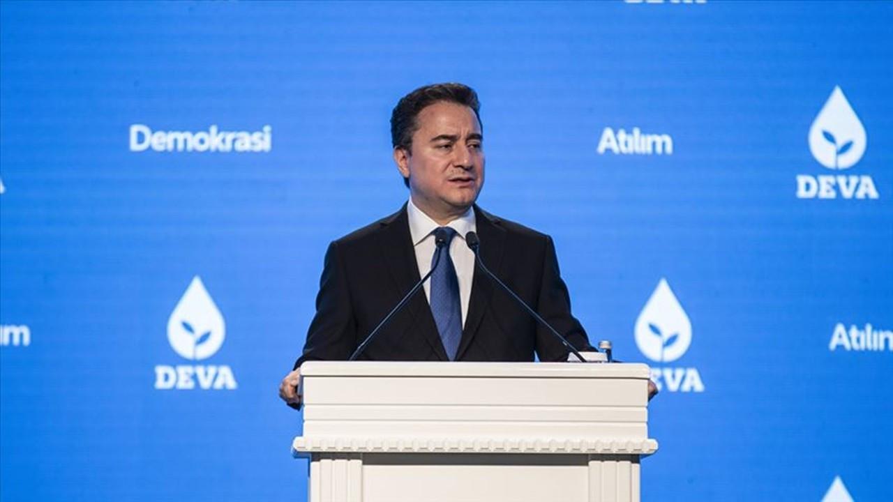 DEVA Partisi lideri Babacan'dan faiz değerlendirmesi