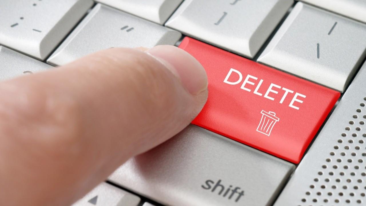 İnternetten geçmişinizi silmek artık mümkün