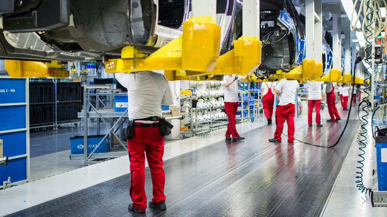 Euro Bölgesi sanayi üretimi mayısta yüzde 1 arttı