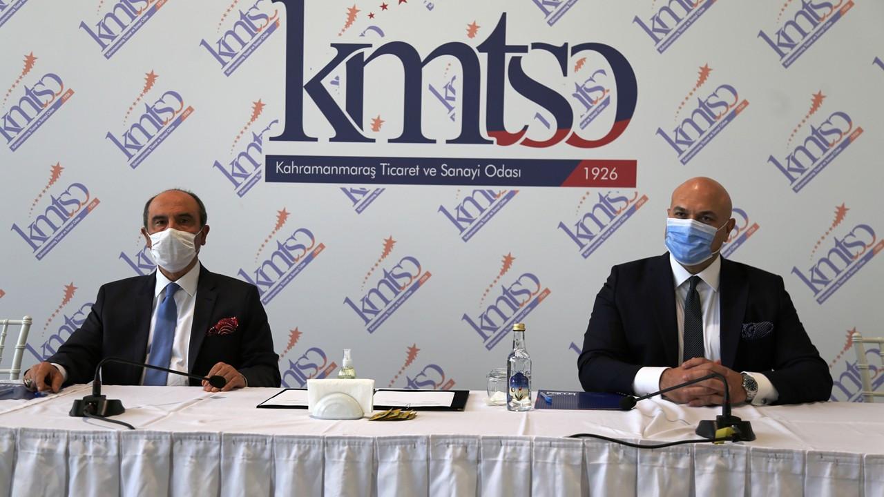 KMTSO ile Ziraat Bankası arasında işbirliği protokolü imzalandı