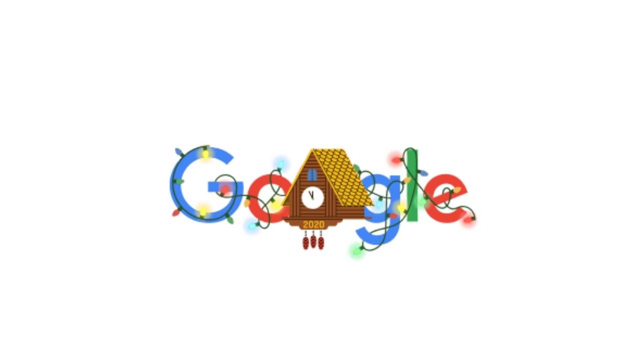 Google'ın 202 Yılbaşı doodle'ı şaşırttı
