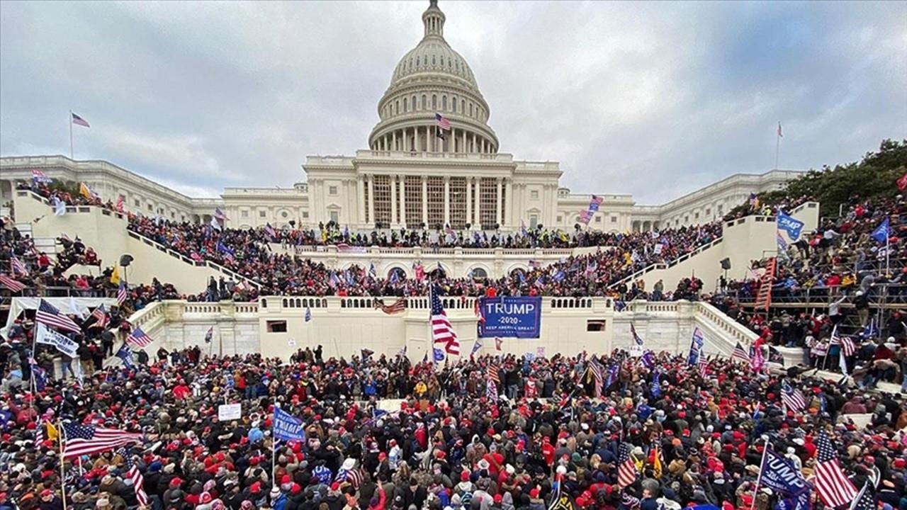 ABD'de Kongre binasının basılmasına dünyadan tepkiler