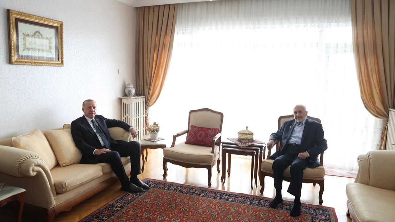 Cumhurbaşkanı Erdoğan, SP'li Asiltürk'ü ziyaret etti