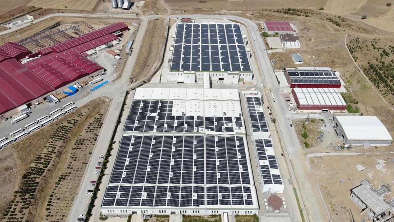 Sunvital, Türkiye'nin en büyük çatı üstü güneş santrallerinden birini kurdu