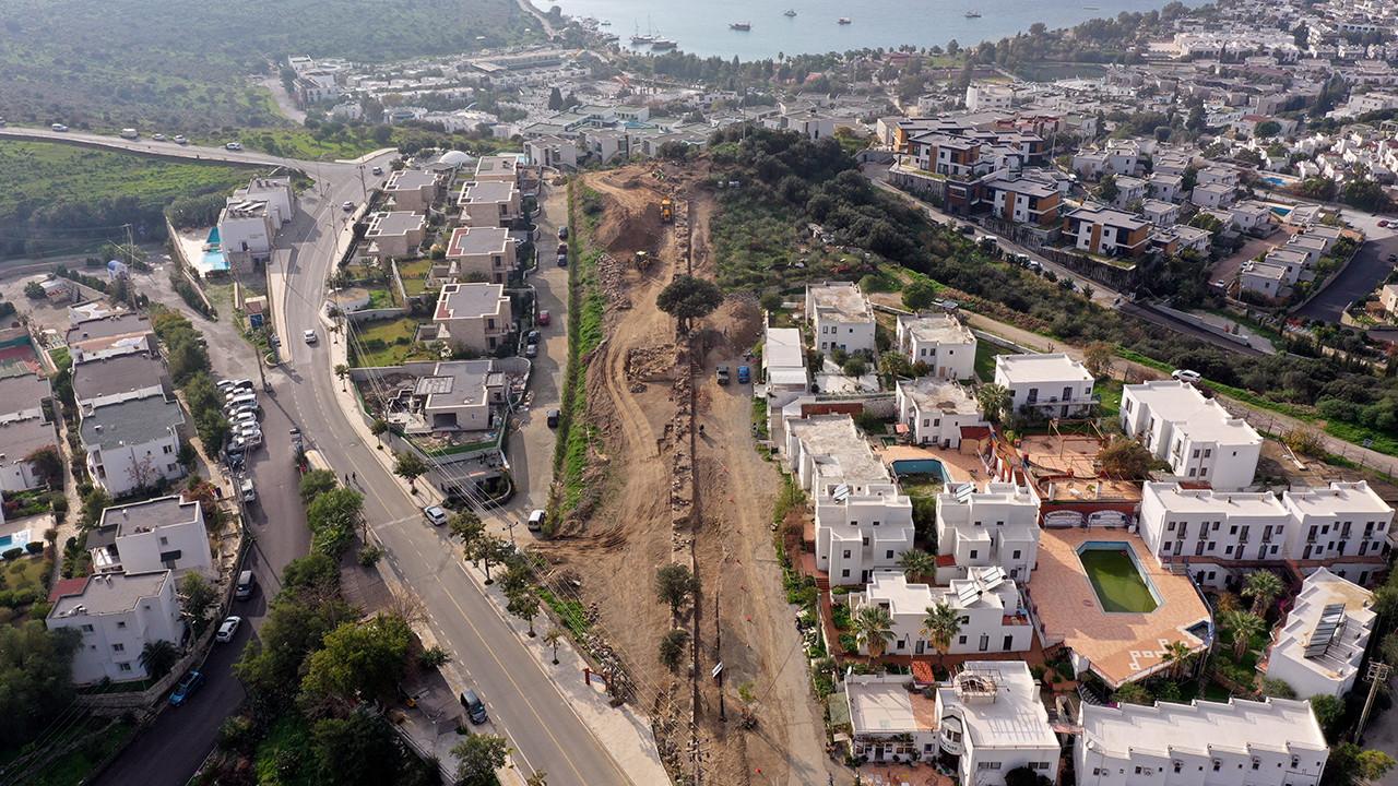 Bodrum'da 7,5 km'lik surlar Türkiye turizmine kazandırılacak