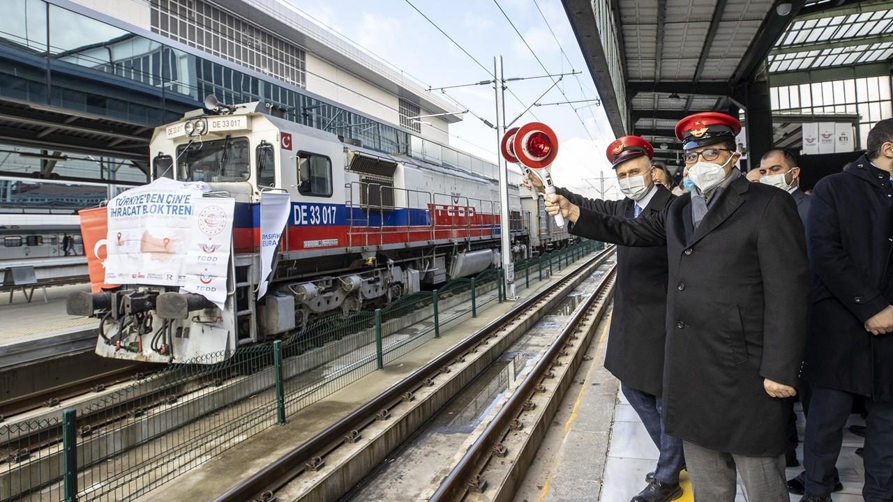 Borun Çin yolculuğu başladı