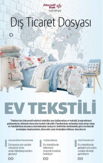 Dış Ticaret Dosyası: Ev Tekstili