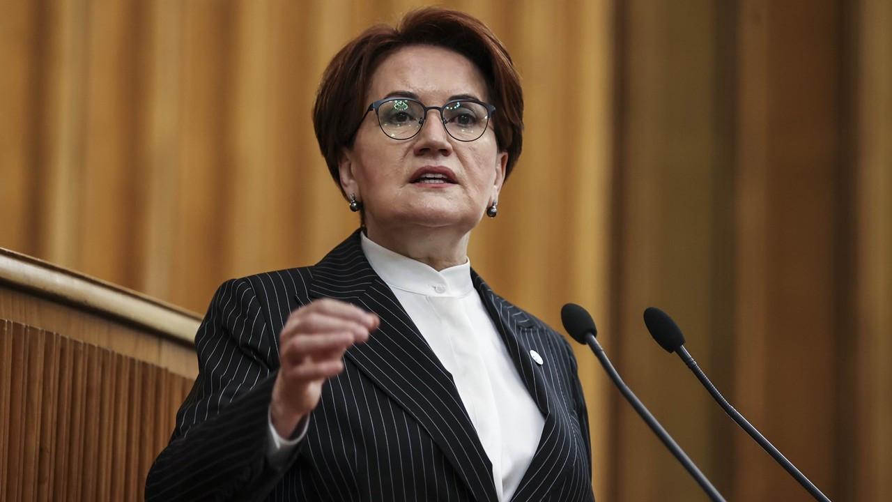 Akşener: Erdoğan itiraf etmiş, sorumluluğu almış