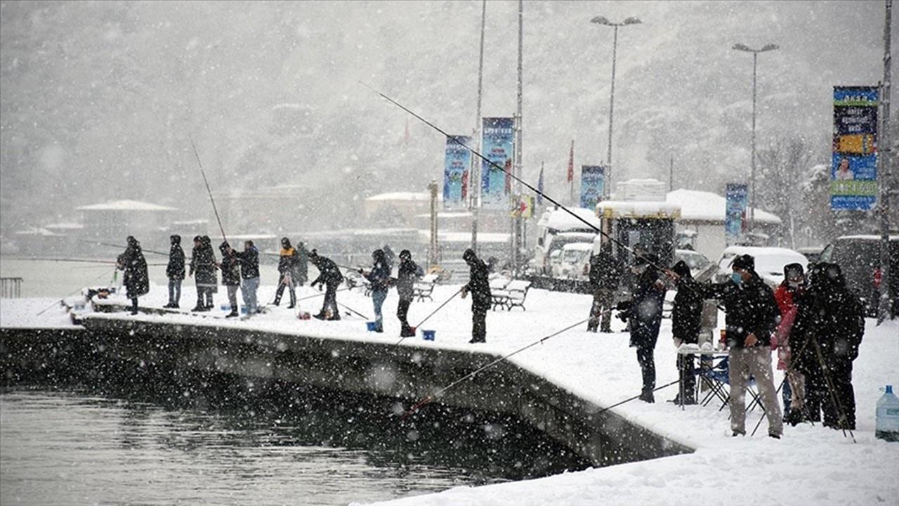 Marmara için 'yoğun kar' uyarısı