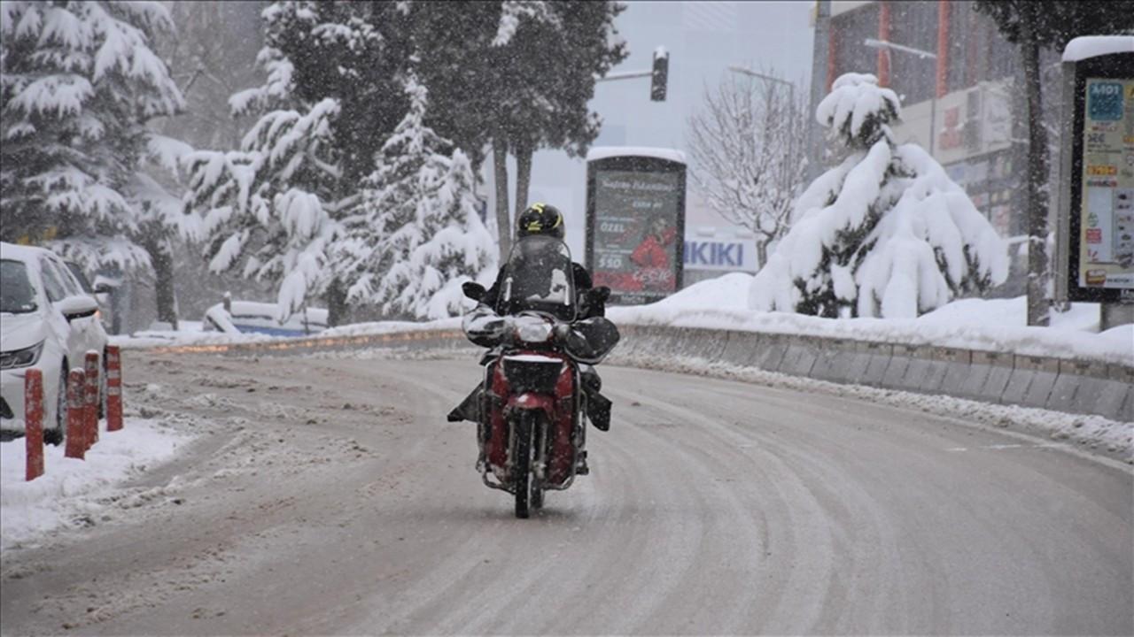 Marmara Bölgesi için yoğun kar, buzlanma ve don uyarısı