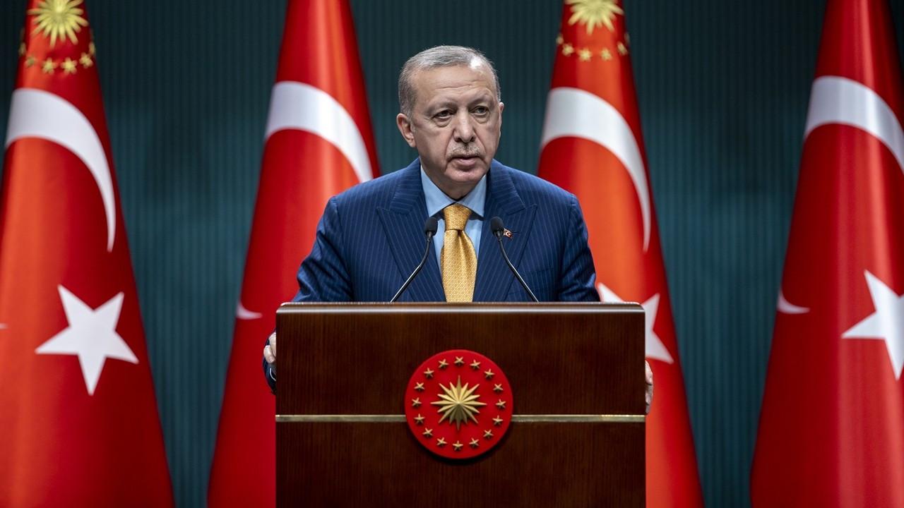 Cumhurbaşkanı Erdoğan: Kademeli normalleşme sürecini martta başlatıyoruz