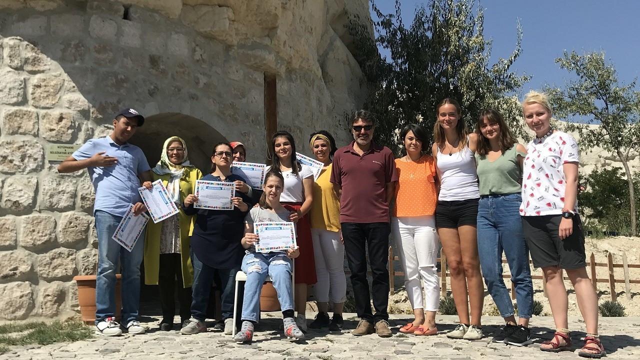 Kapadokya'da zihinsel engelli eğitim modeliyle dünyaya örnek oluyor