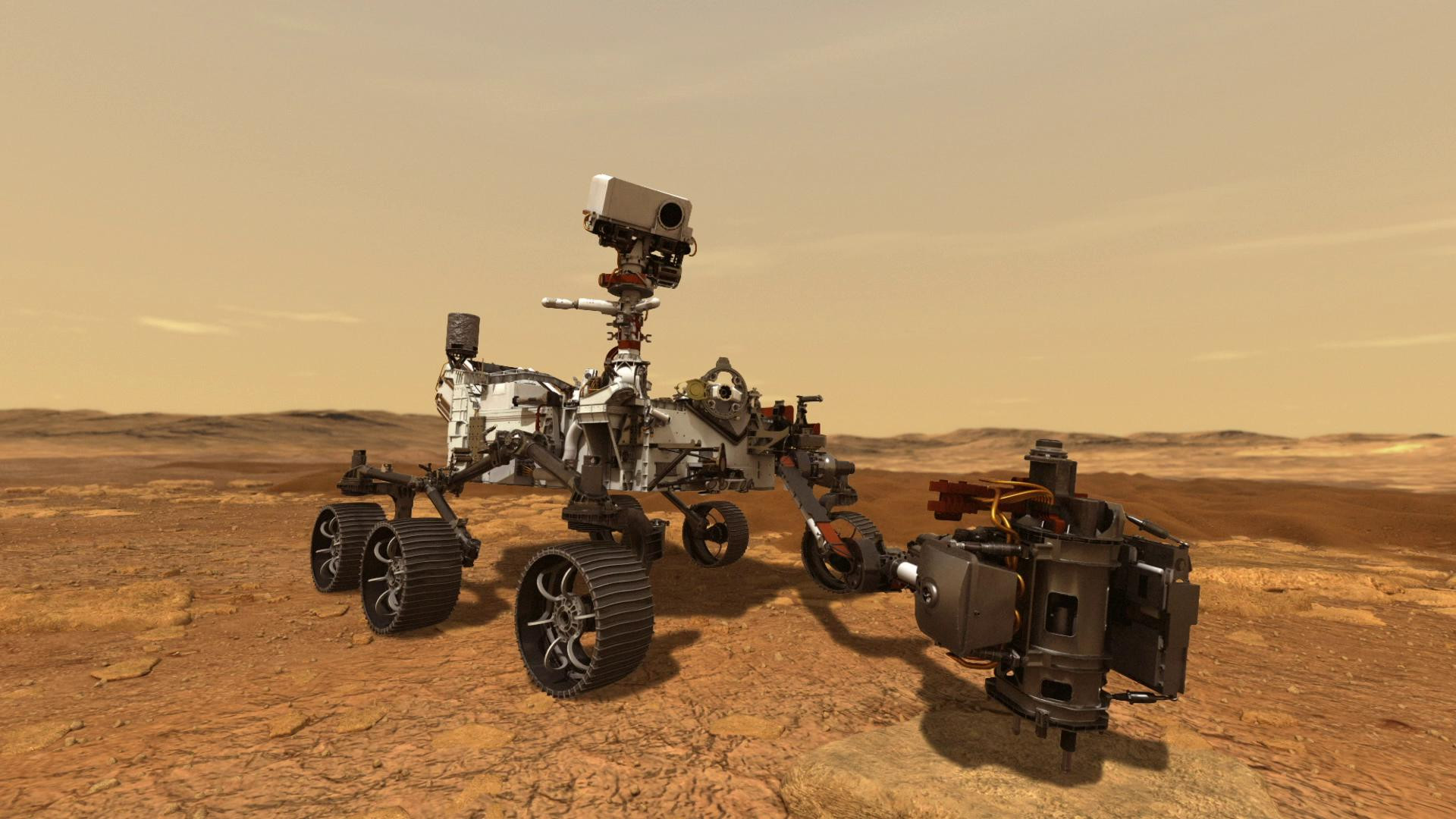 NASA Mars'tan ilk fotoğrafları paylaştı