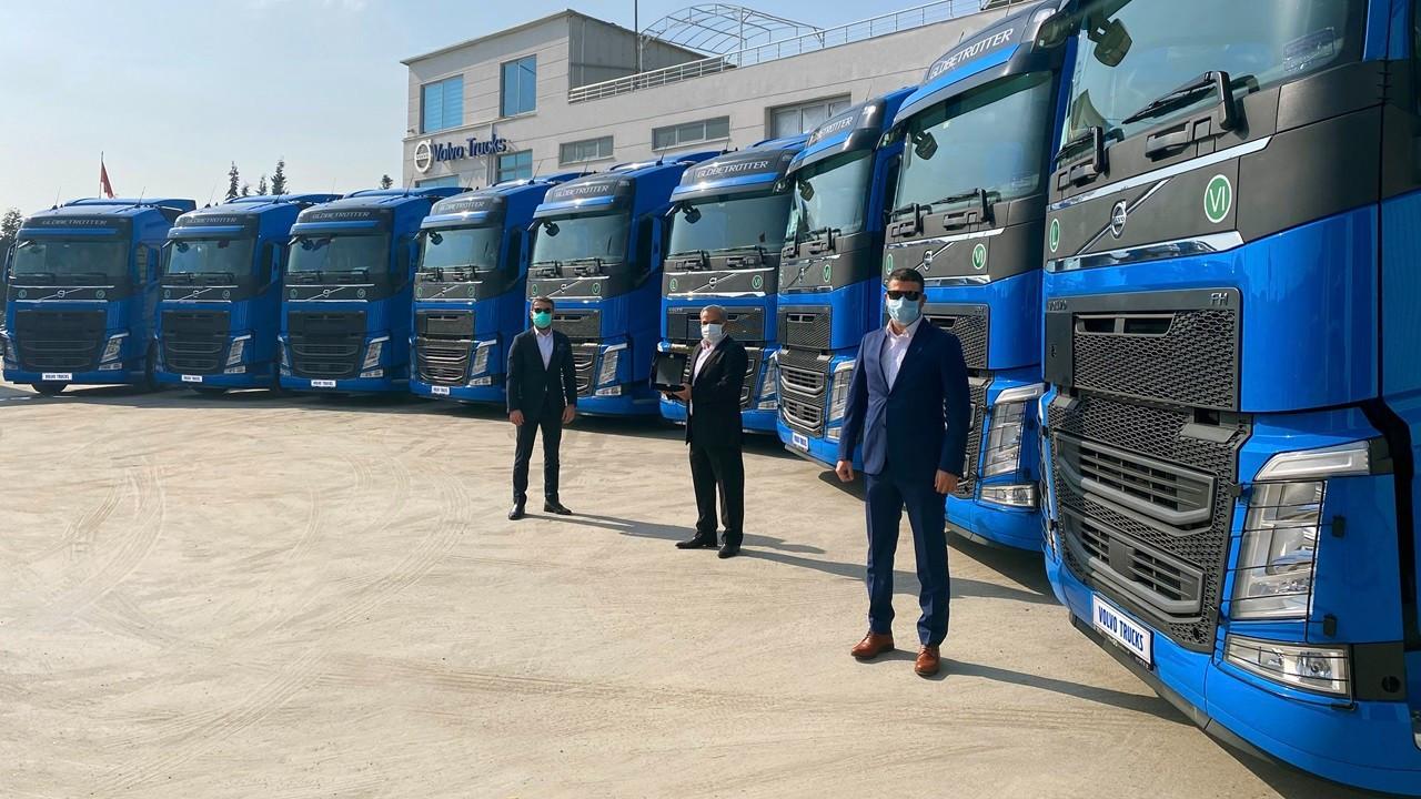 Rastkaya Nakliyat, filosunu 10 adet Volvo Trucks ile büyüttü
