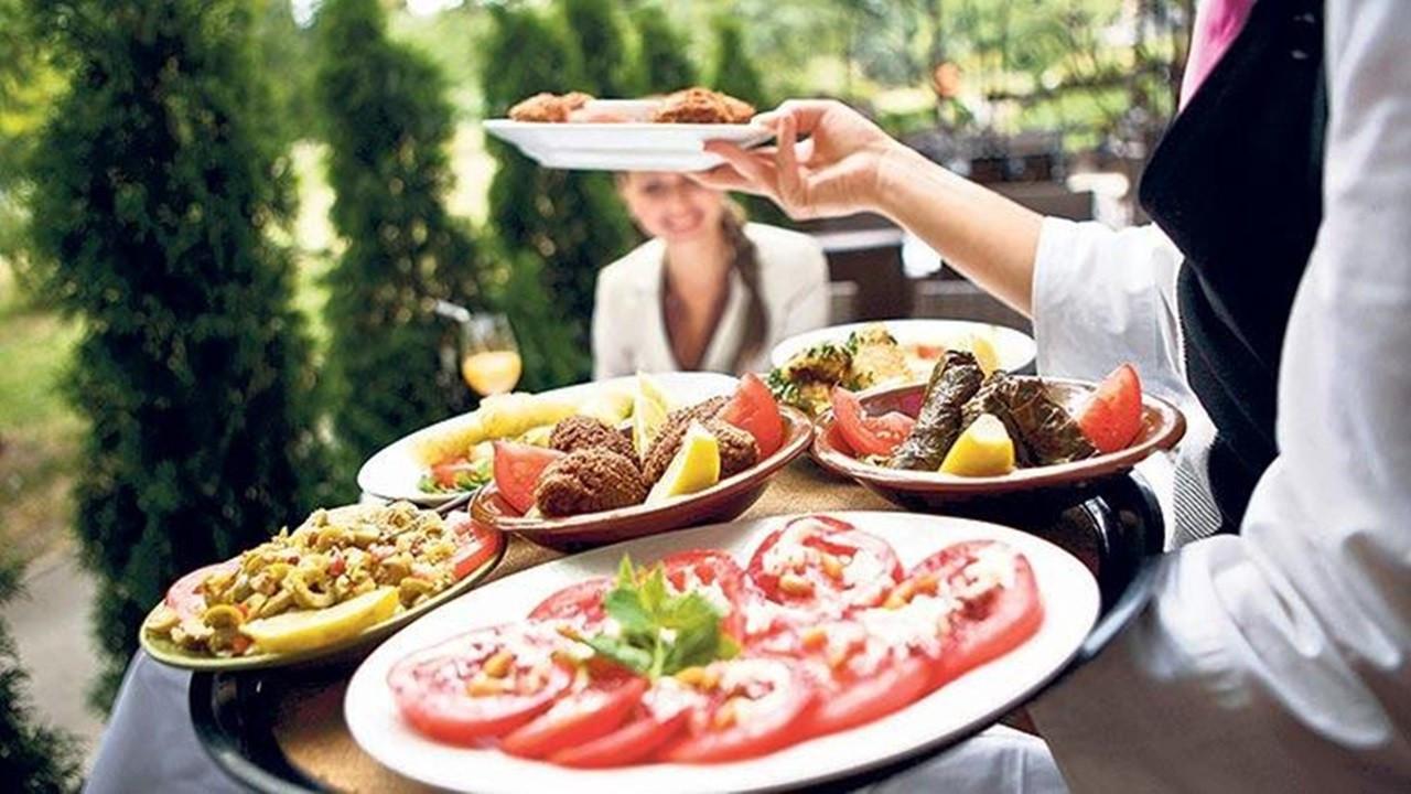 Müşterilerin yüzde 66'sı dış mekanda yemek yemeyi istiyor