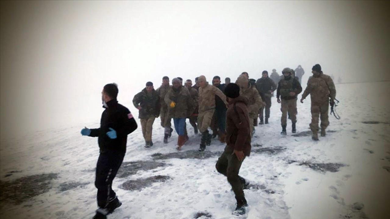 Bitlis'te askeri helikopter düştü: 10 şehit, 3 yaralı
