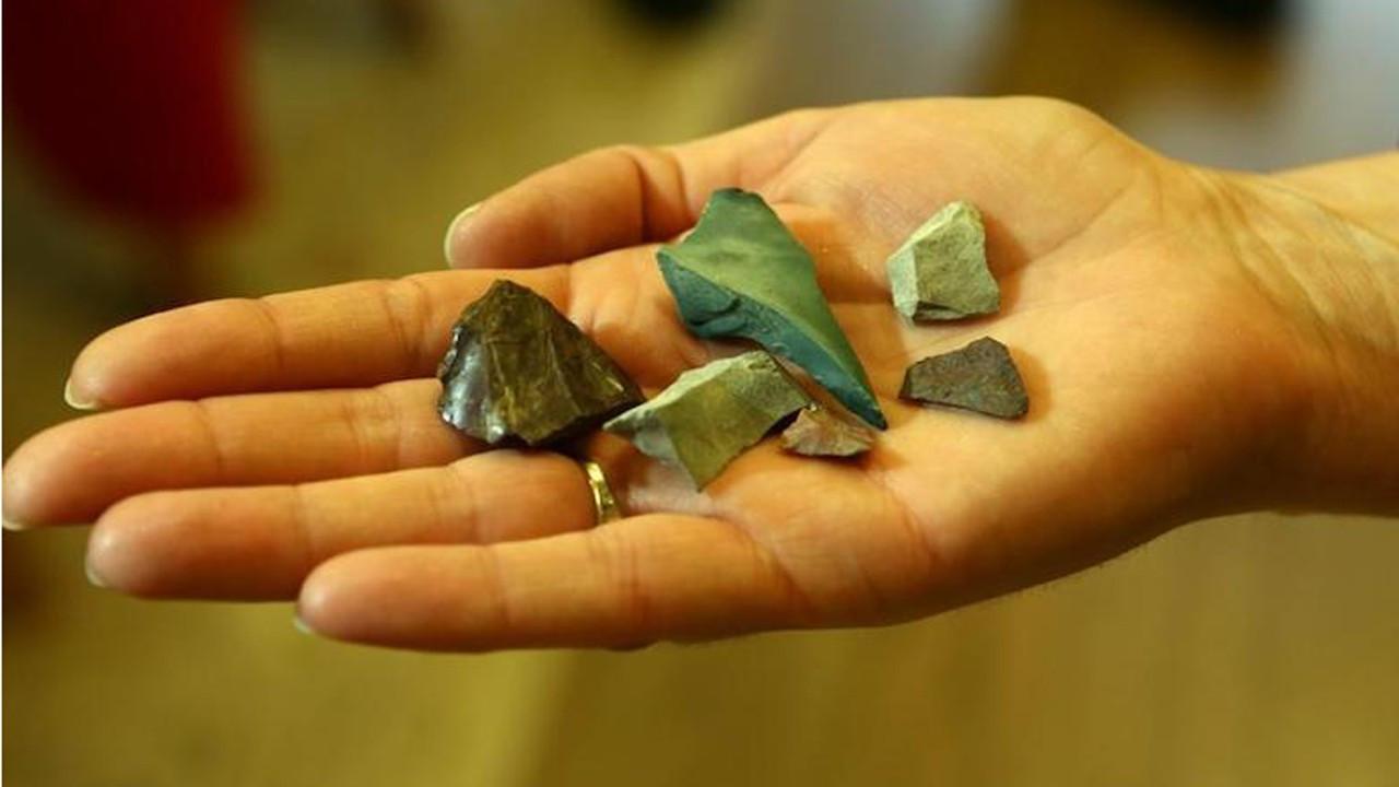 Trabzon'da 13 bin yıl öncesine ait aletler bulundu