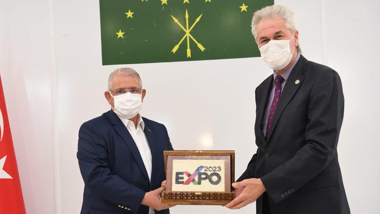 Expo 2023 Kahramanmaraş'ta Çerkes bahçesi kurulacak