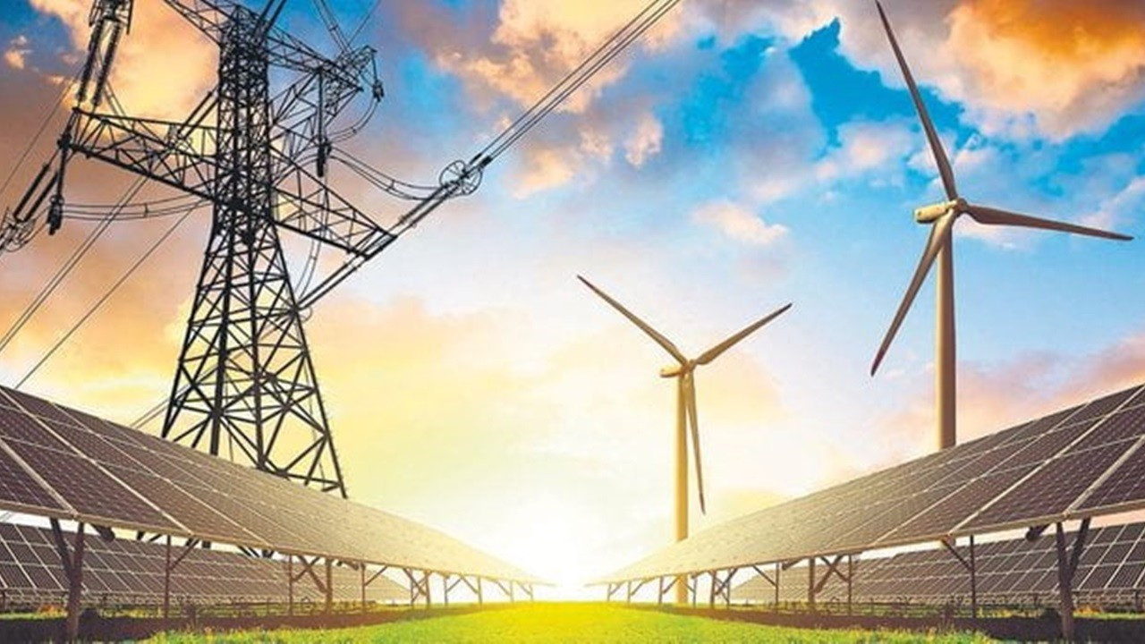 Rüzgar ve güneşten sağlanan elektrik üretimi yüzde 15 arttı
