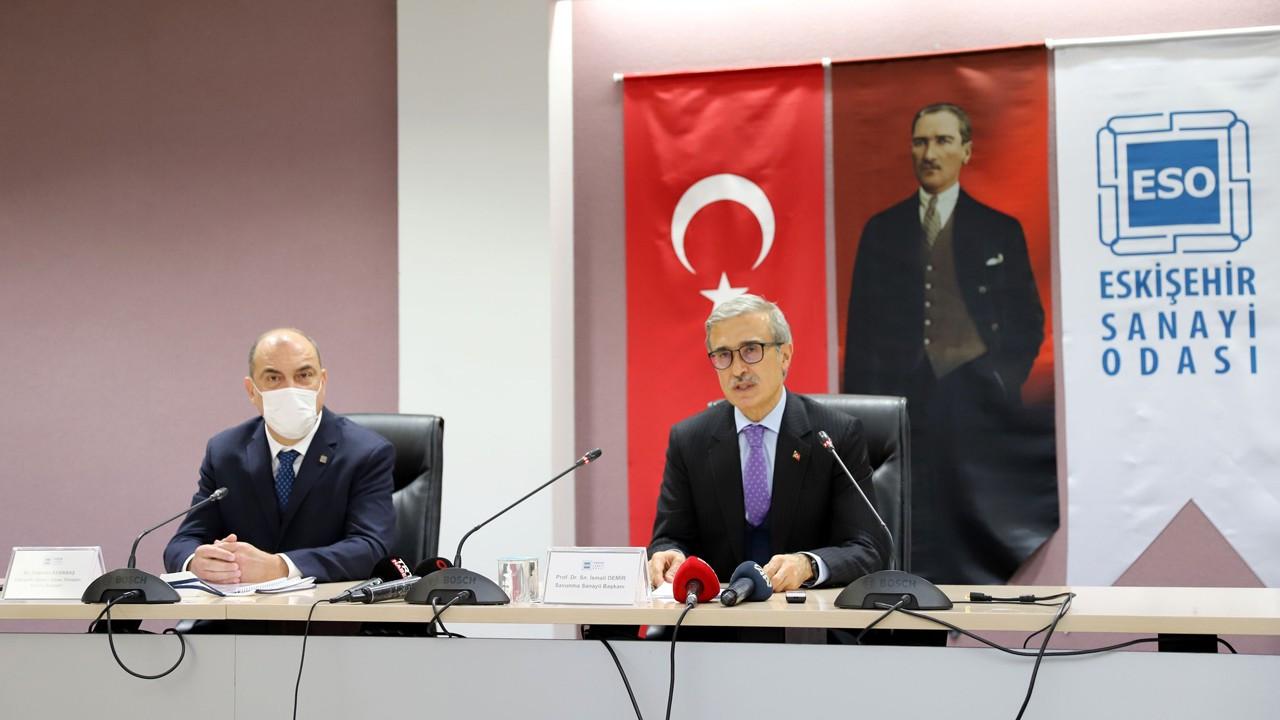 """""""Eskişehir, havacılıkta önemli üretim kabiliyeti elde etti"""""""