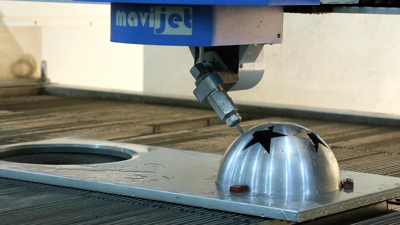 Mavijet'ten global savunma sanayii firmalarına 'su jeti makinesi' ihracatı