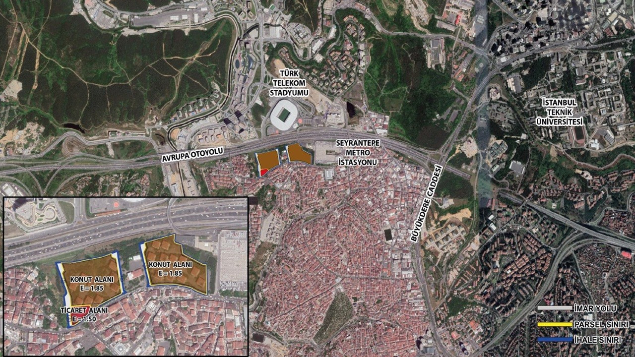 DAP, Ayazağa'da 100 bin metrekarelik ihale kazandı