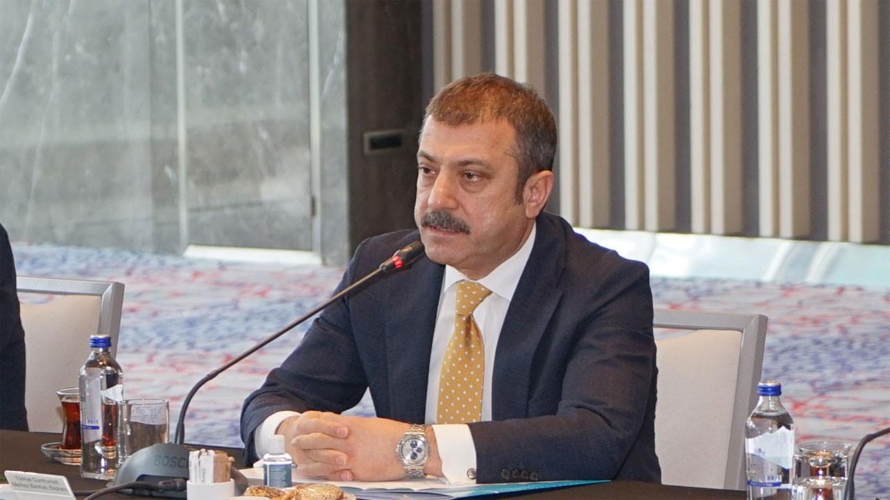 Kavcıoğlu, banka genel müdürleriyle buluştu