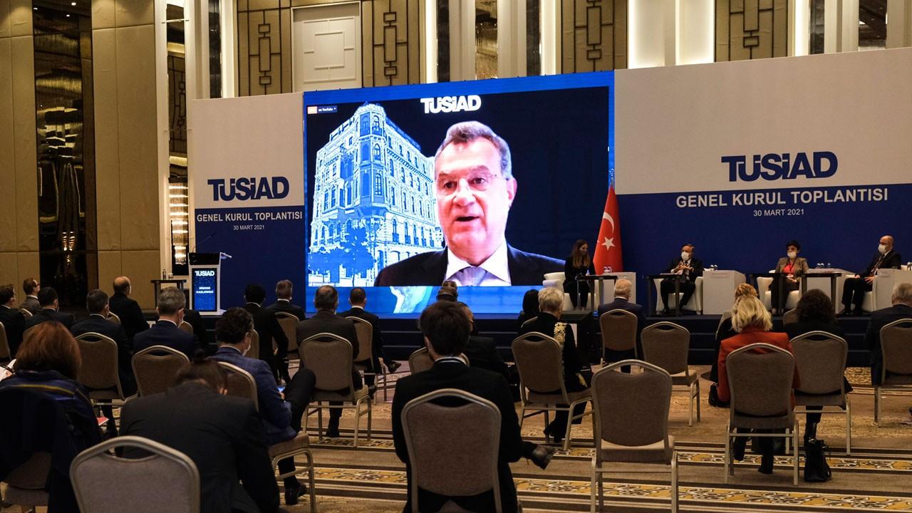 TÜSİAD Genel Kurulu'nda 'istikrar' ve 'güven' vurgusu