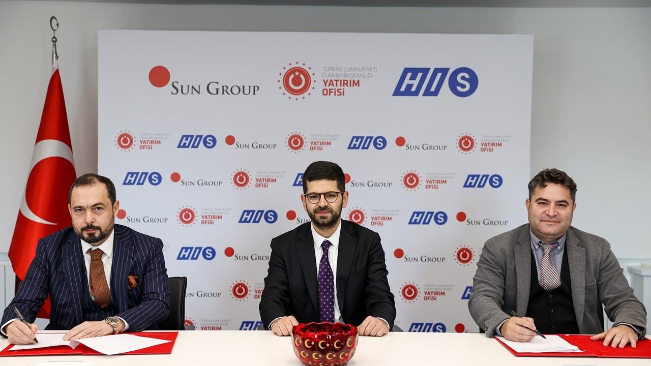 HIS Türkiye ile Sun Group arasında 40 milyon euroluk yatırım anlaşması