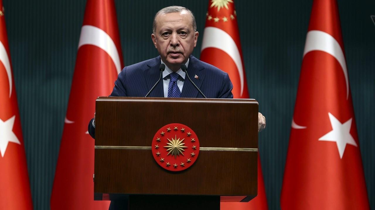 Erdoğan: İlk iki hafta kısmi kapanmaya geçiyoruz