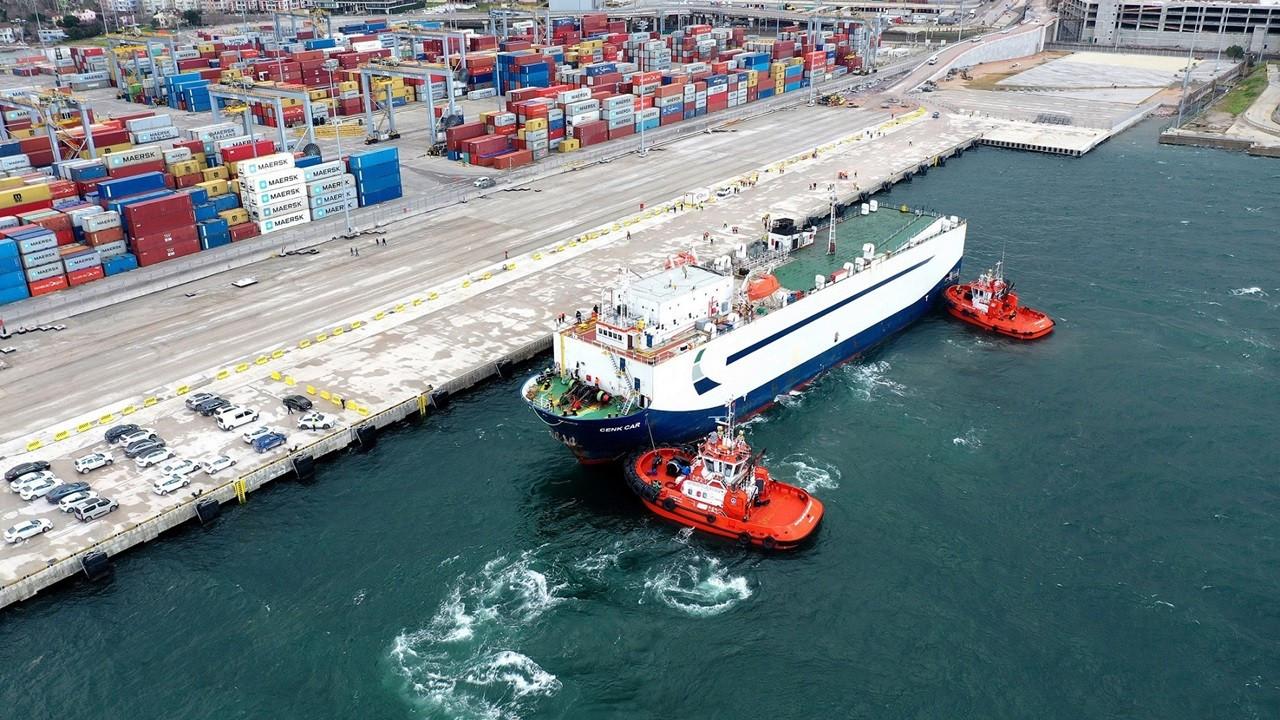 OYAK'ın 'otomotiv odaklı Ro-Ro limanı'na ilk sefer gerçekleşti