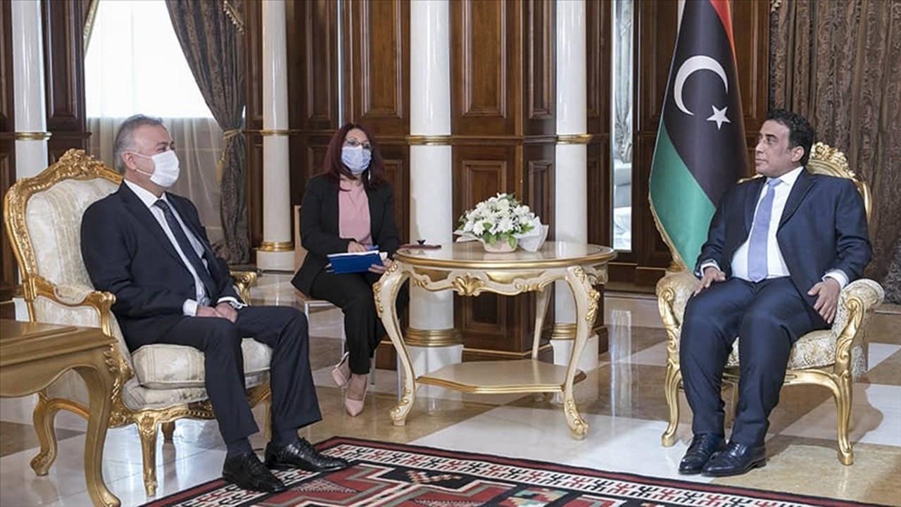 Libya Başkanlık Konseyi Başkanı El-Menfi: Türkiye ile ortak çıkarlar korunacak