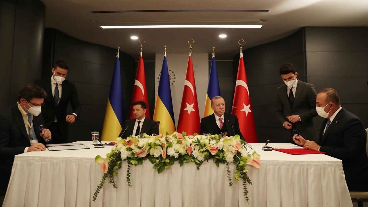Türkiye ve Ukrayna'dan ortak bildiri