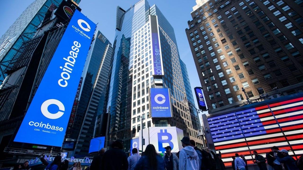 Halka arz sonrası Coinbase'in değeri 100 milyar doları aştı