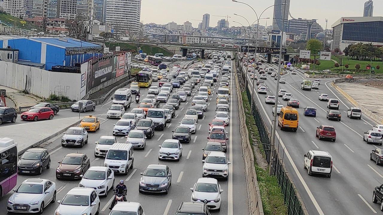 3 ayda 323 bin 635 aracın trafik kaydı yapıldı