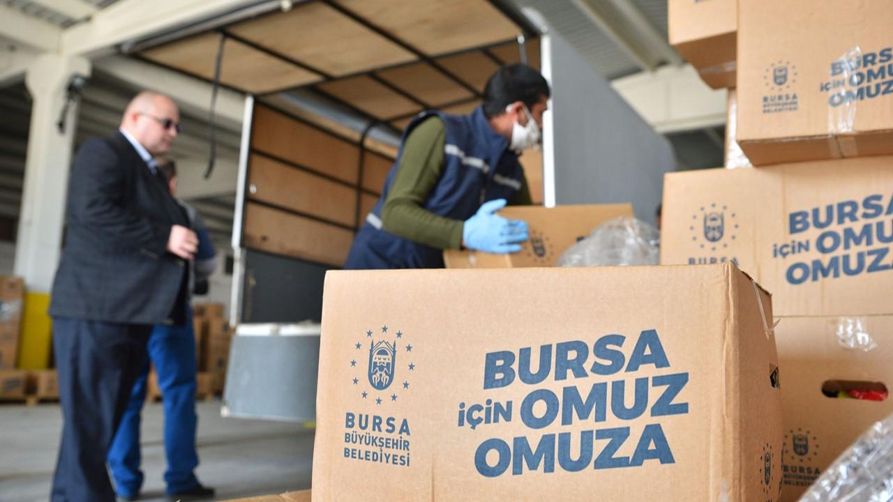 Bursa Büyükşehir'den 50 milyon liralık ilave destek paketi