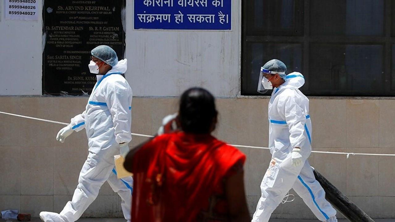 Hindistan'da vakalar 4 ayın en düşüğünde