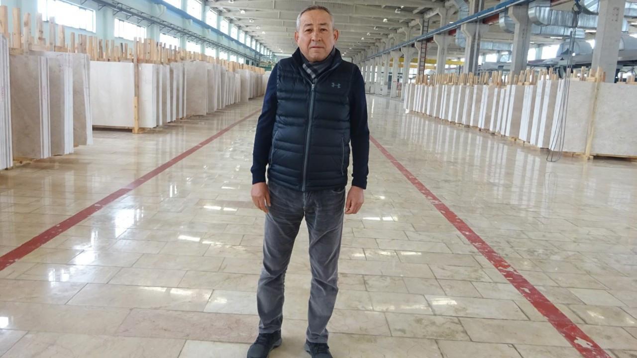 """""""İşlemeden sattığımız mermer Çin'de istihdam yaratıyor"""""""
