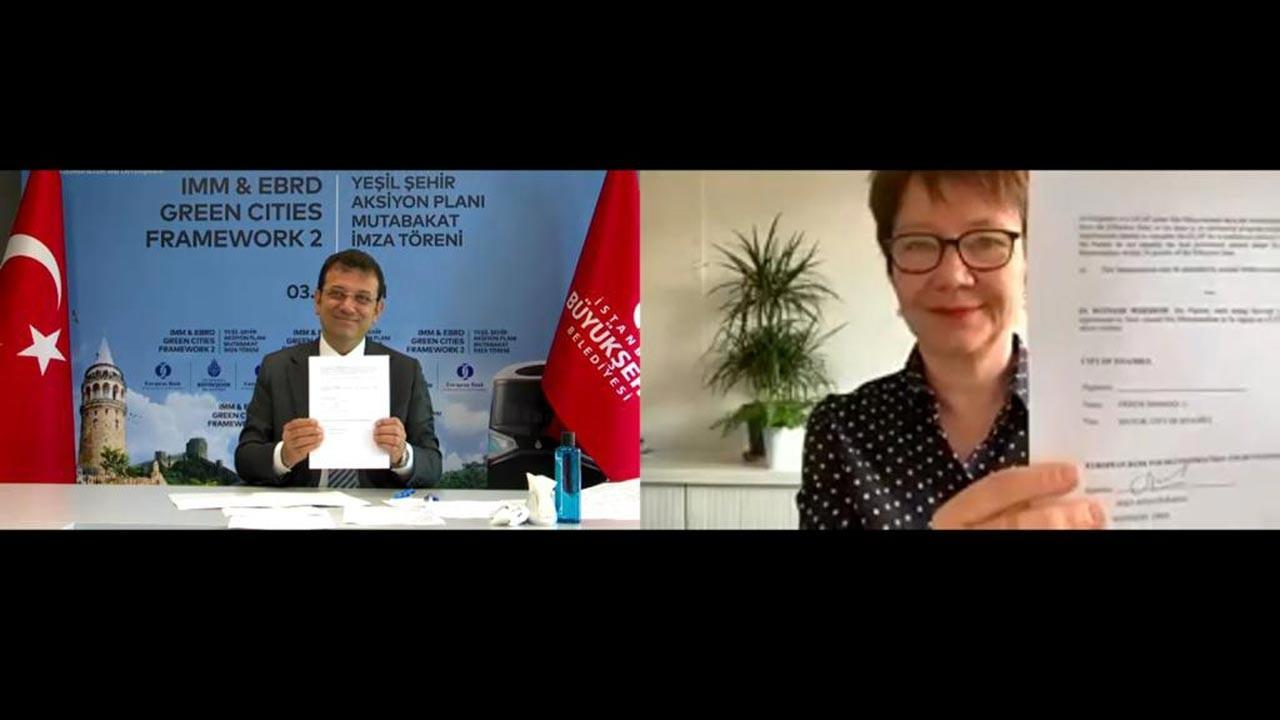 İstanbul, EBRD'nin 'Yeşil Şehir' programına katıldı