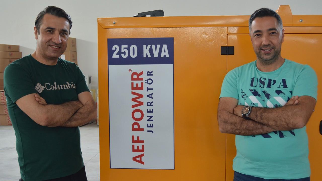 AEF Jeneratör'ün hedefi dünya markası olmak