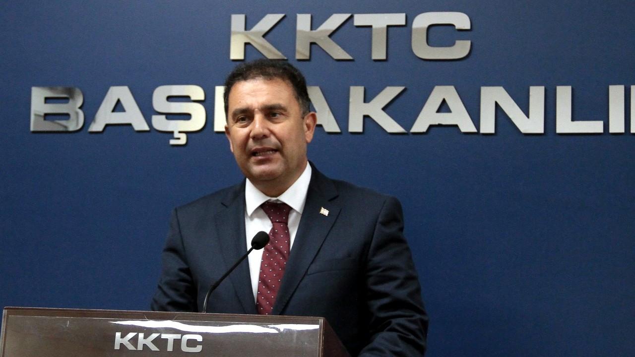 KKTC Başbakanı Saner karantinada