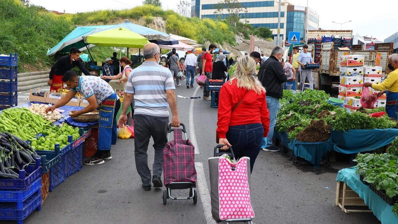 Halk pazarları açıldı