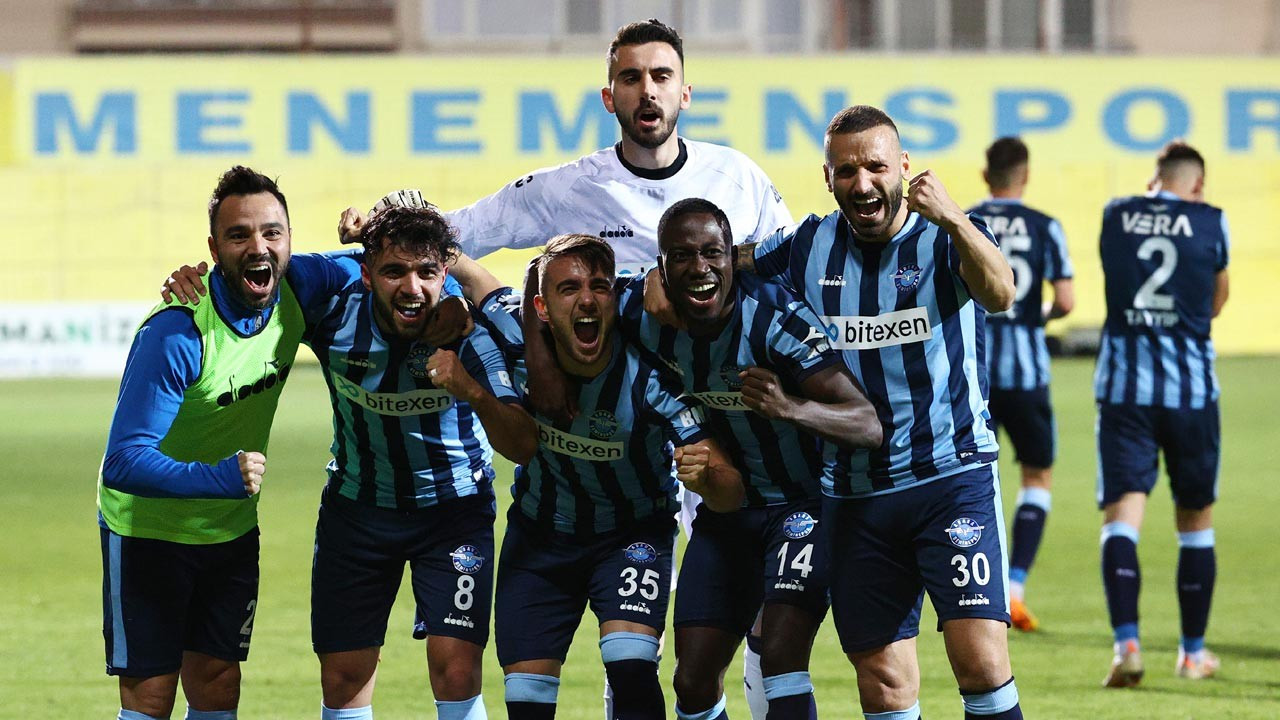 Adana Demirspor şampiyon oldu Süper Lig'e yükseldi