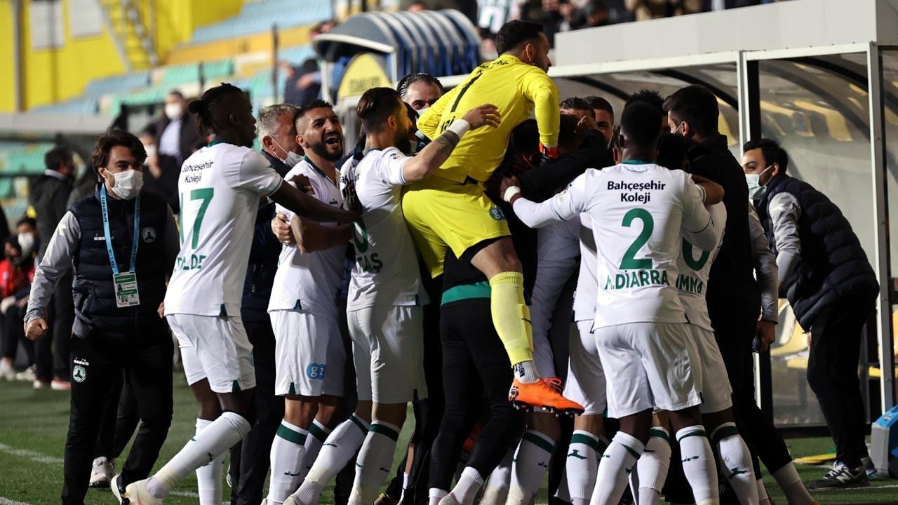 GZT Giresunspor Süper Lig'e yükseldi