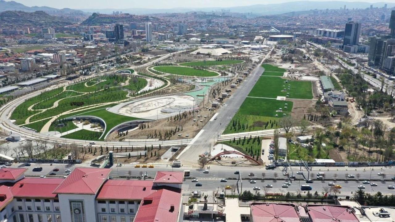 """Ankara'nın """"Central Parkı"""" 30 Ağustos'ta açılıyor"""